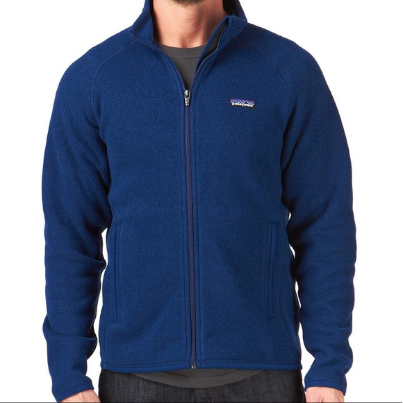 Patagonia Sweaters Mens Better Sweater Full Zip Lg Poshmark